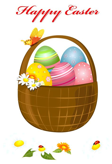 clipart foto happy easter basket png picture clipart gallery