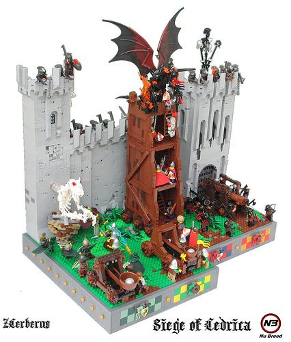 siege lego the siege of cedrica the brothers brick the brothers brick