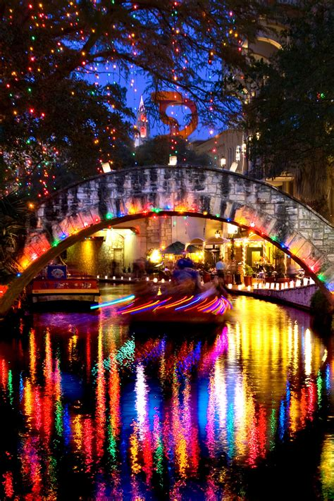 gallery al rendon s river walk lights past and