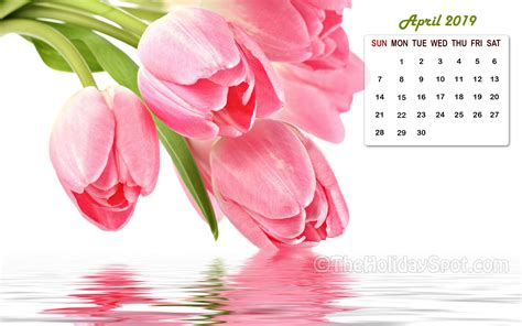 Month Wise Calender Wallpapers 2019