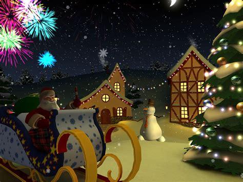 christmas holiday  screensaver  animated