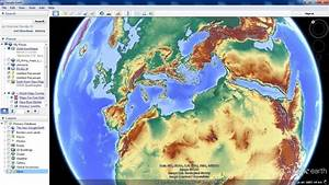Google Earth Map Overlays Road Maps  Terrain Relief And