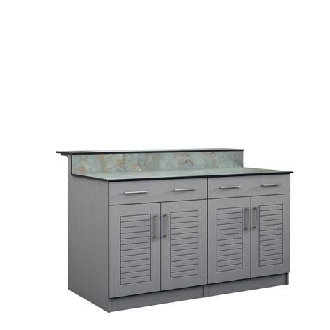 kitchen cabinet depot weatherstrong key west 59 5 in outdoor bar cabinets with 2456