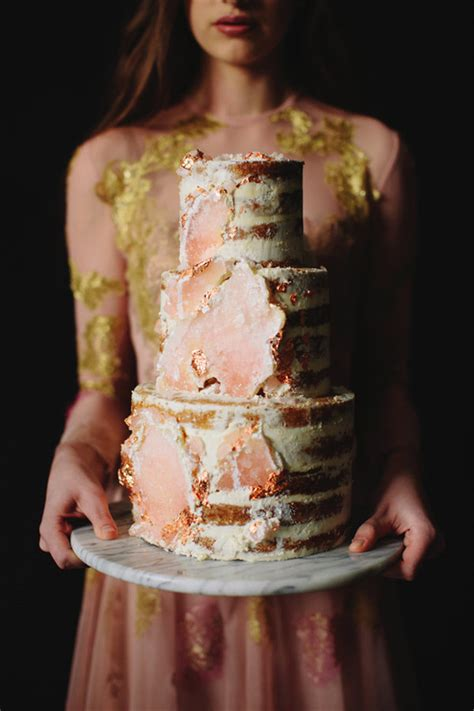 geode wedding cakes ideas   forget   cakes