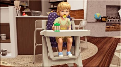 toddler highchair functional  victor miguel sims
