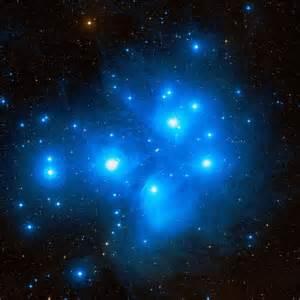 Reflection Nebula Pleiades Star Cluster
