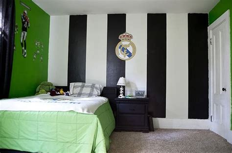 Soccer Themed Bedroom Photography by Kid Real Madrid Bedrooms