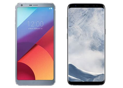 best smartphones of 2017 lg g6 galaxy s8 galaxy note 7 samsung galaxy s8 vs lg g6 to comparison of