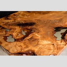 Exklusiver Holztisch Aus Tausendjährigem Kauri Holz Von