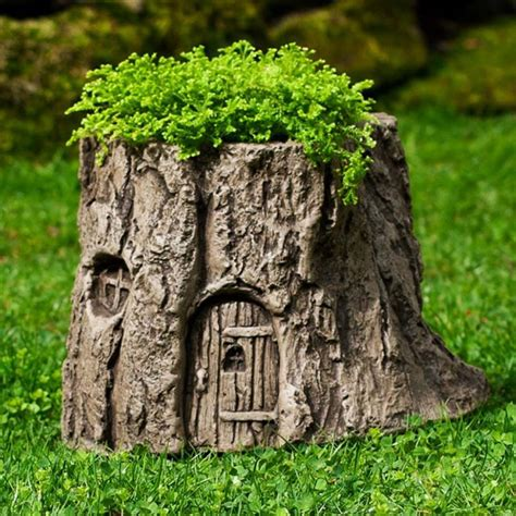 Tree Stump Decorating Ideas - 14 interesting ideas how to decorate your garden with tree