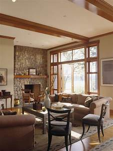 honey oak trim houzz With interior paint colors with oak trim