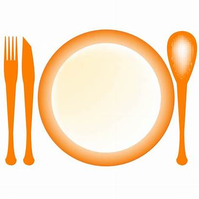 Plate Clip Clipart Dinner Dishes Plates Dish