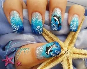 15 Delightful Dolphin Nail Art To Slay The Summer
