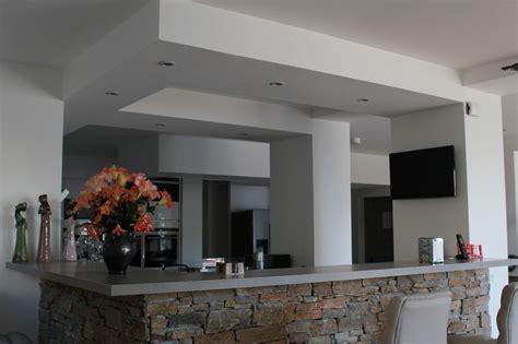 agencement cuisine realisation faux plafond placo 4 1 à brest dans le