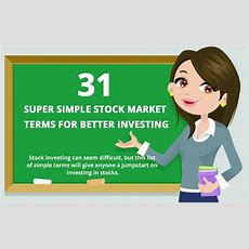 31 Stock Market Terms For Newbies  Invest Money Ph