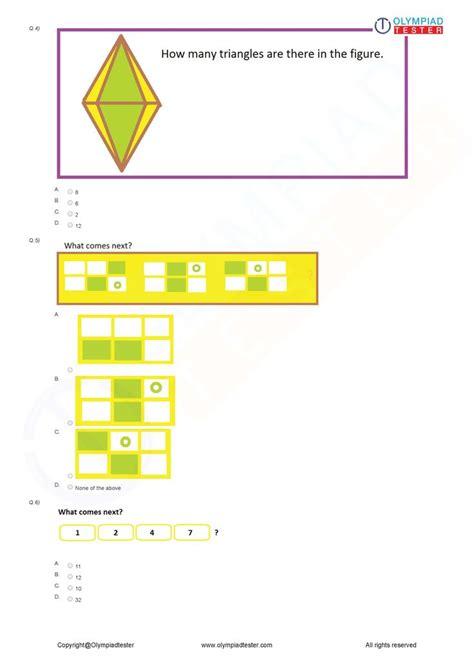 class  logical reasoning worksheet