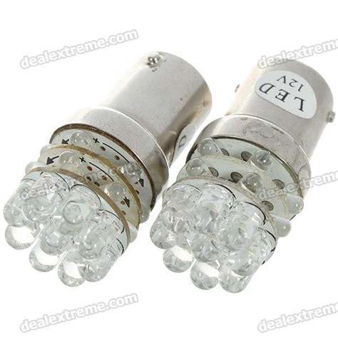 ba15s 1 5w 12v 63 lumen 21 led car turning signal white