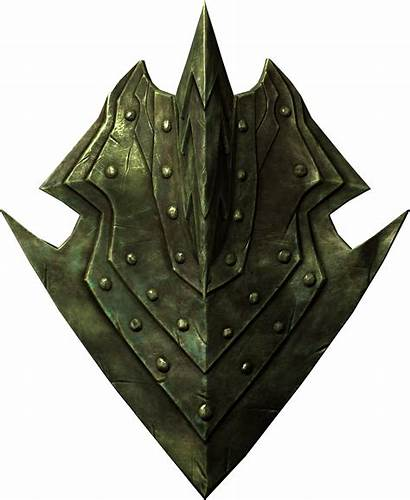 Shield Orcish Skyrim Fantasy Elder Rpg Scrolls