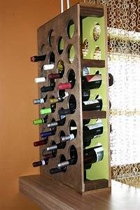 Custom Drill Design How To Build A Handcrafted Wine Rack Hgtv