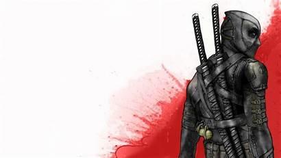 Samurai Katana Ninjas Deadpool Ninja Wallpapers Wade