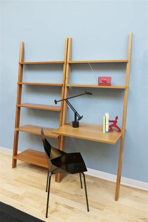 Leaning Desk Bookcase by Linden Leaning Desk The Century House Wi