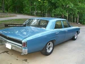 1967 Chevelle Malibu 4 Door