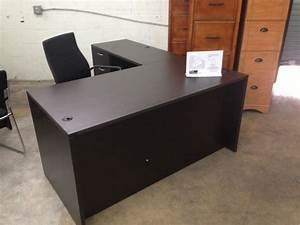 Of4 Promo Shaped Manager 39 Desk Locking Box File Drawer 60 Quot Wide 72 Quot Deep 29 5 Quot High Best L Shaped Desk With Drawers