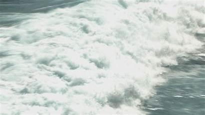Ocean Foam Wave Wild North Sea America