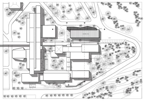 architectural site plan gallery of marseille s architecture extension pan