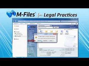 m files document management system for law firms allied With document management systems for law firms