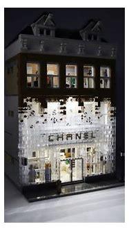 Chanel Crystal House glistens in LEGO bricks   Lego brick