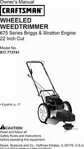 Briggs And Stratton 675 Series Engine Owners Manual