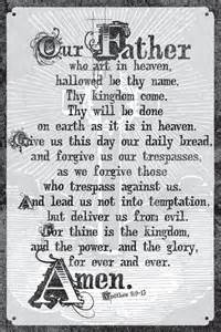 Our Father Lord S Prayer