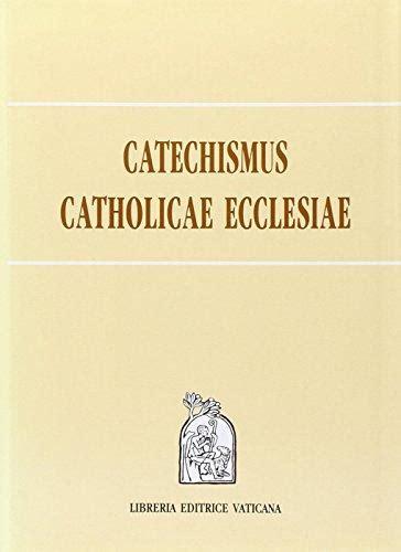 libreria editrice vaticana books 9788820924287 catechismus catholicae ecclesiae