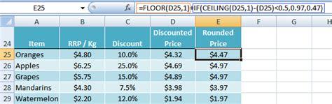 Excel Floor Ceiling Functions by Excel Ceiling And Floor Functions My Hub