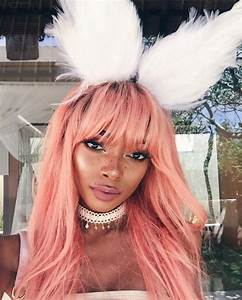 Is pastel pink hair the new blonde?