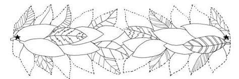 Laurel Leaf Crown Template Images