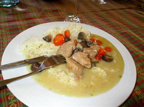 cuisiner la blanquette de veau blanquette de veau chignons carottes cookeo recette cookeo