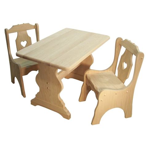 child s table amish crafted furniture