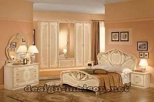 Modele De Chambre A Coucher Moderne : chambre a coucher moderne style italien ~ Melissatoandfro.com Idées de Décoration