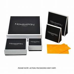 Nomination CLASSIC Gold Nature CZ White Flower Charm ...