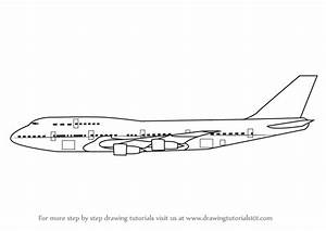 Learn How to Draw Aeroplane Sideview (Airplanes) Step by ...