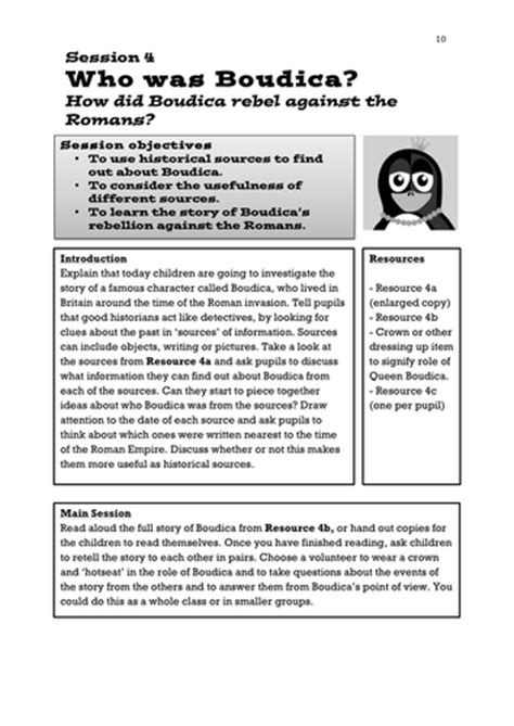 Romans Lesson (y3y4)  Who Was Boudica? By Ks2history  Teaching Resources Tes