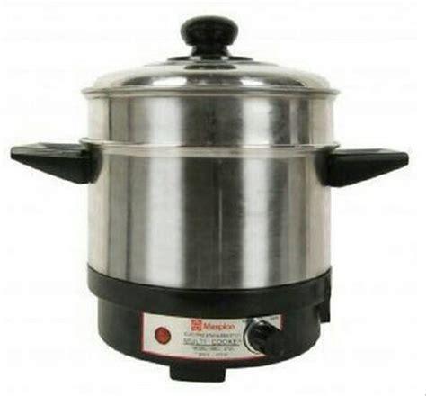 Harga Panci Bakar Maspion jual panci listrik multi cooker maspion mec 2750 alat