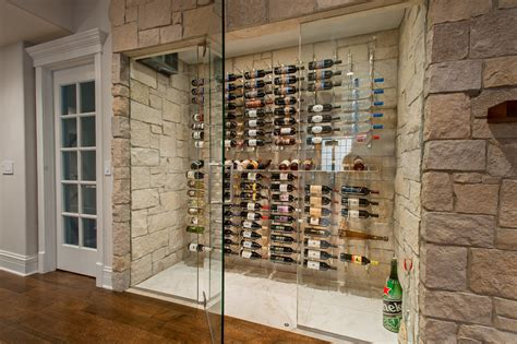 Modern Wine Rack Wall Wine Cellar Transitional With