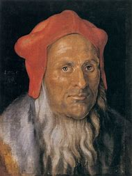 Bearded Man Portrait Painting