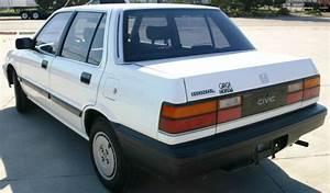 1987 Honda Civic Base Sedan 4