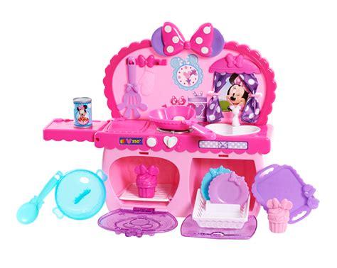 minnie mouse kitchen playset disney minnie mouse s bowtastic kitchen playset toys