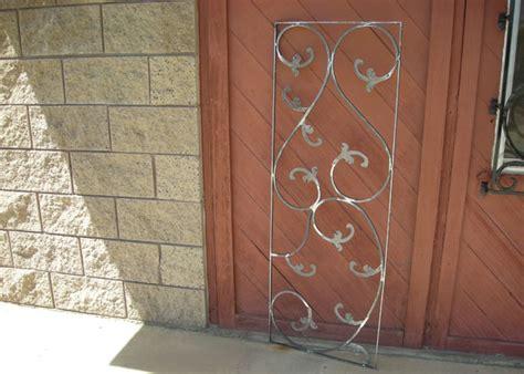 wrought iron security window bars san diego ca fire