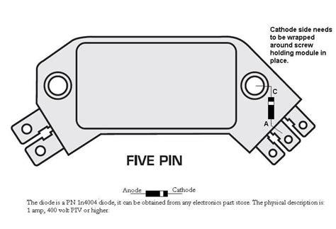 Gm Hei Module Wiring by 5 Pin Hei Module Diode Fix Msd